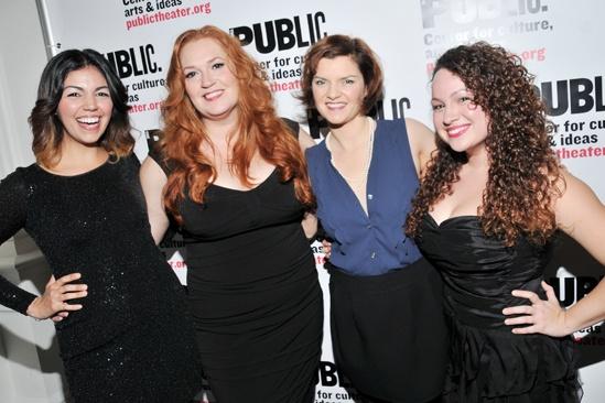 'Giant' Opening Night — Isabel Santiago — Katie Thompson — Mary Bacon — Rocio Del Mar Valles