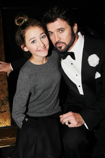 Chicago  Miley Cyrus Visits  Noah Cyrus  Billy Ray Cyrus
