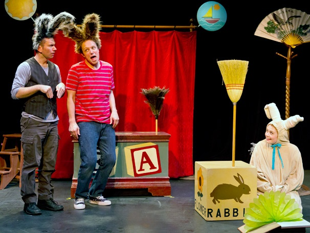 Show Photos - The Velveteen Rabbit - John Curcuru, Jim Stanek and Kristin Parker