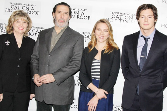 Cat on a Hot Tin Roof – Meet the Press – Debra Monk – Ciaran Hinds – Scarlett Johnasson – Benjamin Walker