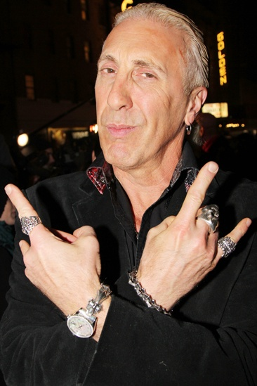 'Dead Accounts' Opening Night — Dee Snider