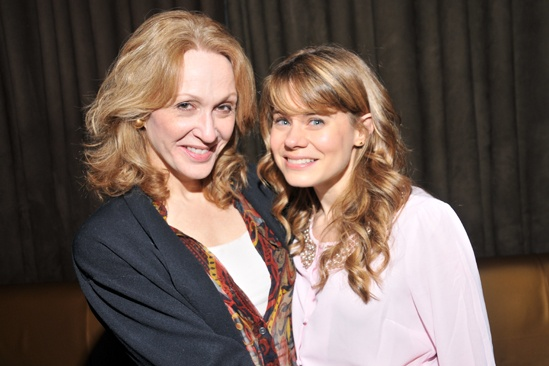 Steel Magnolias benefit reading – Jan Maxwell – Celia Keenan-Bolger