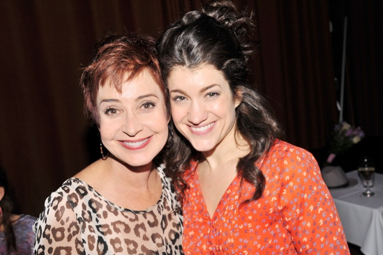 Steel Magnolias benefit reading – Annie Potts – Sarah Stiles
