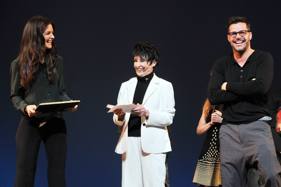 2012 Gypsy of the Year  Katie Holmes  Chita Rivera  Ricky Martin