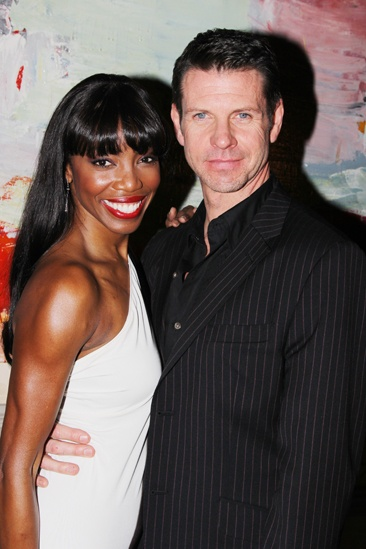 The Bodyguard opening night  Heather Headley  Lloyd Owen