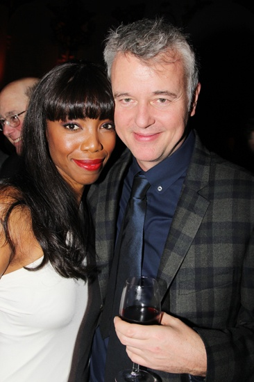 26 The Bodyguard opening night  Heather Headley  Tim Hatley 