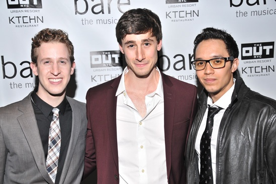 Bare – Opening Night – Alex Wyse – Anthony Festa - Justin Gregory Lopez