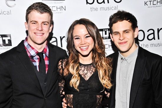 Bare  Opening Night  Jason Hite  Elizabeth Judd - Taylor Trensch