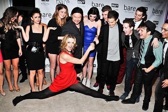 Bare – Opening Night – cast