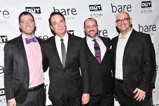 Bare  Opening Night  Gregory Rae - Paul Boskind  Carl D. White  Randy Taradash