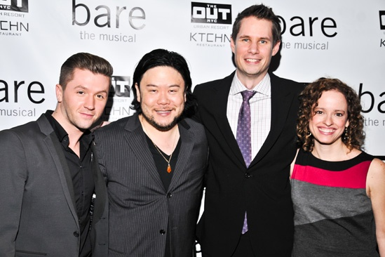 Bare – Opening Night – Travis Wall – Stafford Arima – Jon Hartmere – Lynne Shankel