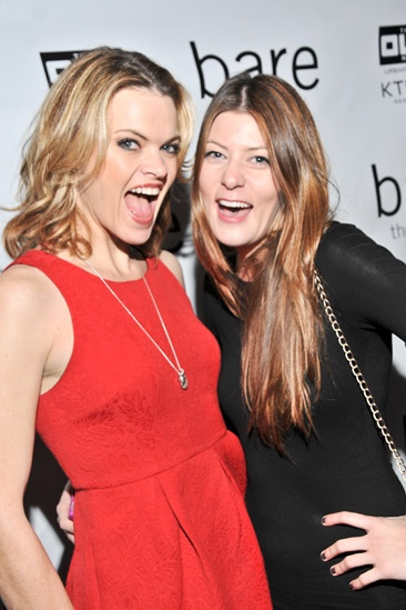 Bare – Opening Night – Missi Pyle – Meredith Pyle