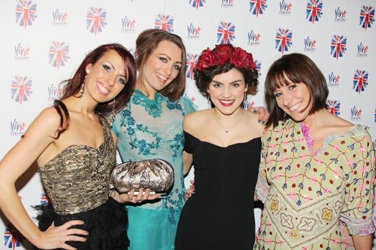 Viva Forever opening night – Rebecca McKinnis – Lucy Thatcher – Carla Nella – Charlotte Gorton