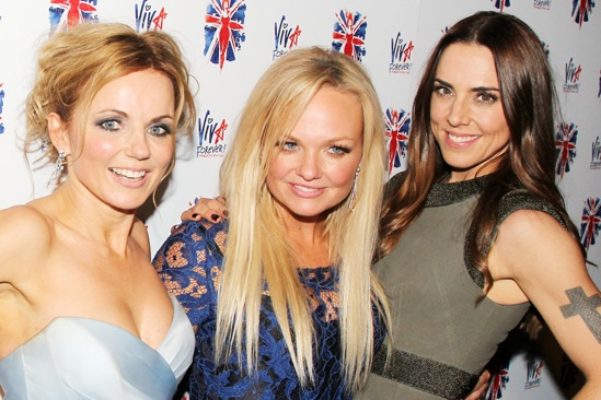 Viva Forever opening night  Geri Halliwell  Emma Bunton  Melanie Chisholm