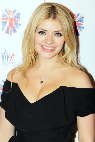 Viva Forever opening night – Holly Willoughby