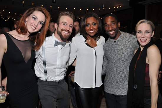 Pippin at ART – Opening Night – Bethany Moore – Colin Cunliffe – Patina Miller – Anthony Wayne – Charlotte d'Amboise