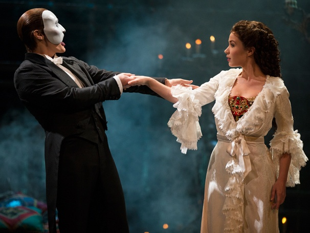Phantom of the Opera  25th Anniversary Cast  Hugh Panaro  Sierra Boggess