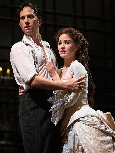 Phantom of the Opera – 25th Anniversary Cast – Kyle Barisich – Sierra Boggess