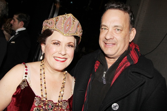 Nice Work – Tom Hanks Backstage – Judy Kaye – Tom Hanks