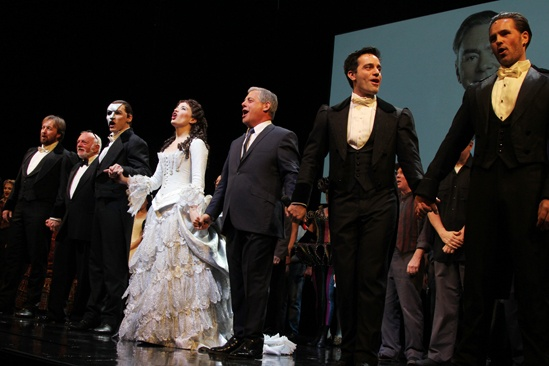 Phantom  25th Anniversary  John Owen-Jones  Hal Prince - Hugh Panaro  Sierra Boggess  Ramin Karimloo  Peter Joback