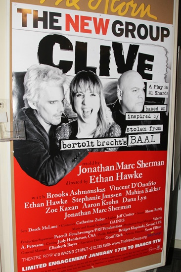 Clive Opening Night  Poster
