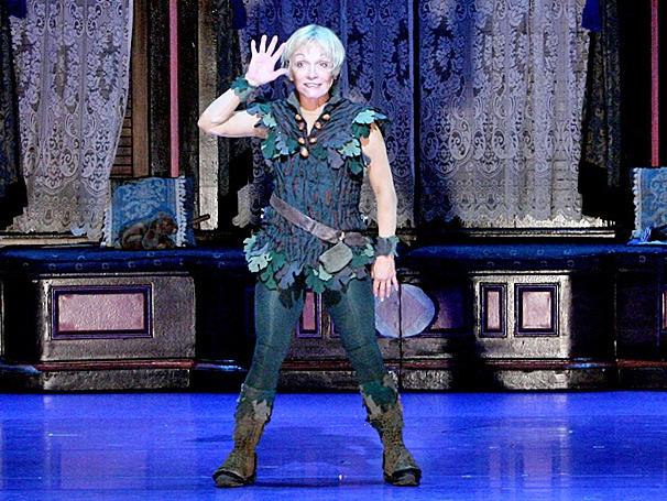 Show Photos - Peter Pan - tour - Cathy Rigby