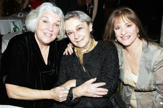 Drama League Gala for Audra 2013  Tyne Daly  Zoe Caldwell  Patti LuPone