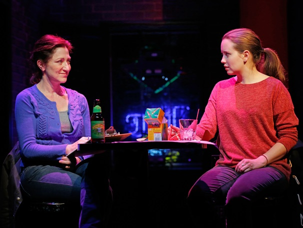 Show Photos - The Madrid - Edie Falco, Phoebe Strole