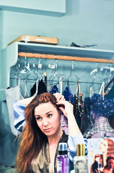 The Phantom of the Opera - Sierra Boggess Backstage  Sierra Boggess