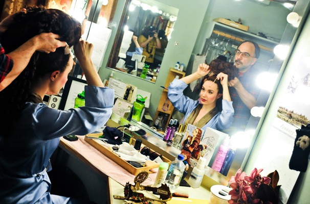 The Phantom of the Opera - Sierra Boggess Backstage  Sierra Boggess  Leona Gagliardi
