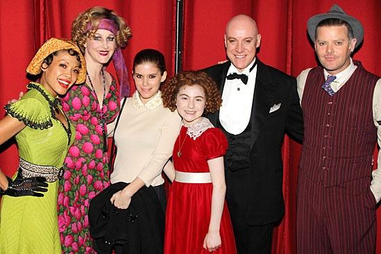 Kate Mara & Dave Grohl at Annie – Kate Mara – Lilla Crawford – J. Elaine Marcos – Katie Finneran – Anthony Warlow – Clarke Thorell