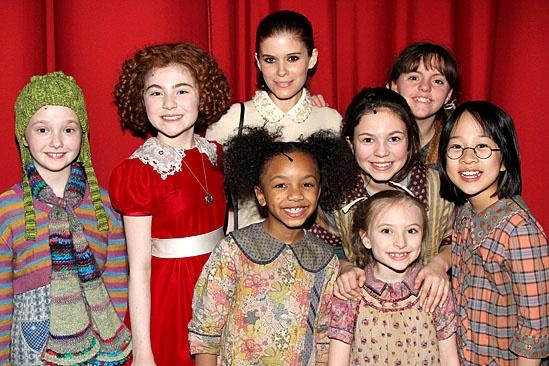 Kate Mara & Dave Grohl at Annie – Kate Mara – Lilla Crawford – orphans