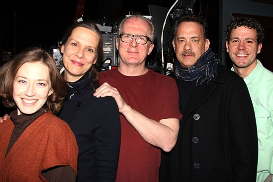 Who's Afraid of Virginia Woolf? – Tom Hanks and Peter Scolari Visit – Carrie Coon – Amy Morton – Tracy Letts – Tom Hanks – Madison Dirks