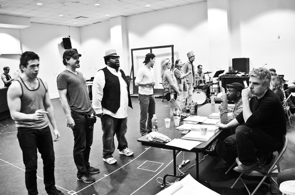 Hands on a Hardbody – Rehearsal – cast