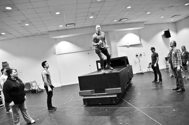 Hands on a Hardbody – Rehearsal – David Larsen
