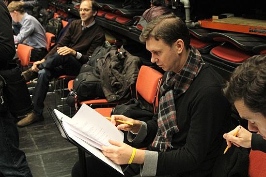 Carousel Rehearsal – Warren Carlyle – John Rando
