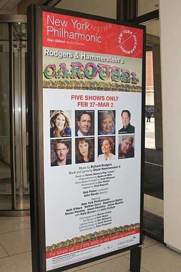 Carousel Rehearsal – poster