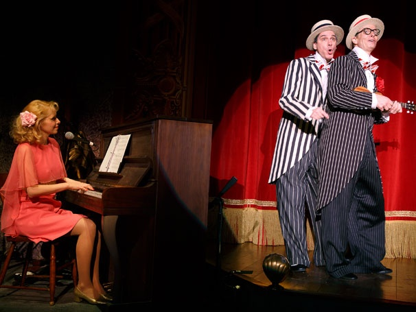 Show Photos - Old Hats - Nellie McKay - David Shiner - Bill Irwin
