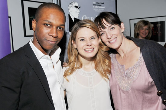 Our Town reading – Leslie Odom Jr. – Celia Keenan-Bolger – Julia Murney