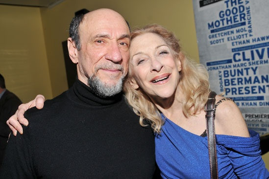 The Old Boy opening night – F. Murray Abraham – Laura Esterman