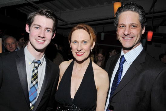 The Old Boy opening night – Chris Dwan – Marsha Dietlein Bennett – Peter Rini