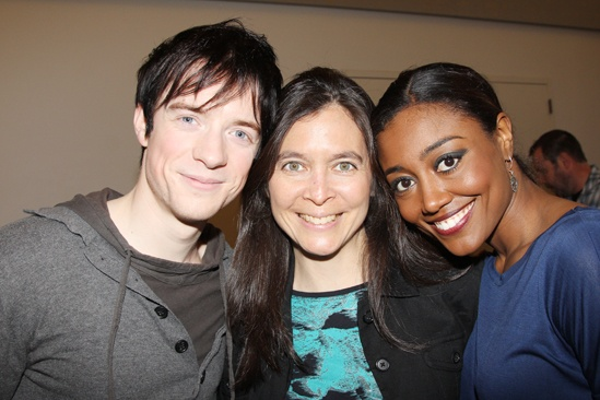 Pippin – Meet and Greet – Matthew James Thomas – Diane Paulus – Patina Miller