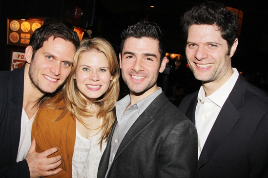 The Last Five Years – Opening Night – Steven Pasquale – Celia Keenan-Bolger – Adam Kantor – Tom Kitt