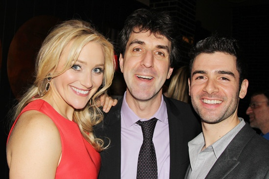 The Last Five Years – Opening Night – Betsy Wolfe – Jason Robert Brown – Adam Kantor