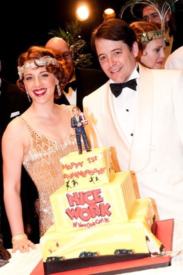 Nice Work If You Can Get It – 1 Year Anniversary – Jessie Mueller – Matthew Broderick