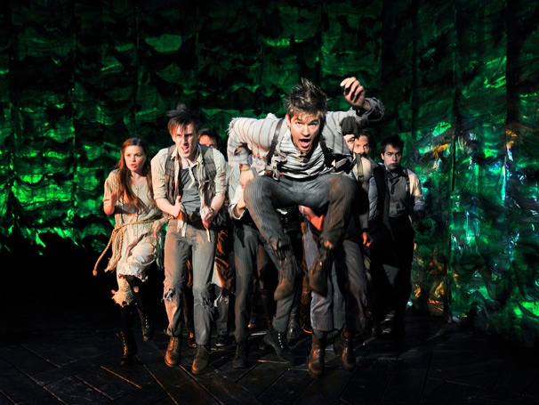 Show Photos - Peter and the Starcatcher - Jason Ralph - Cast