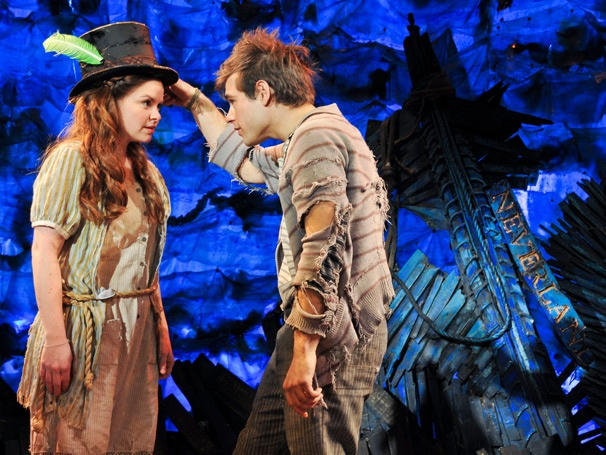Show Photos - Peter and the Starcatcher - Nicole Lowrance - Jason Ralph