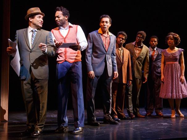 Show Photos - Motown the Musical - Michael Arnold - Brandon Victor Dixon - Charl Brown - Cast