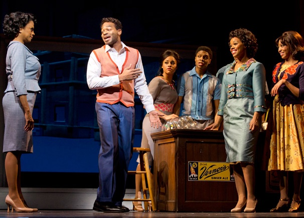 Show Photos - Motown the Musical - Marva Hicks - Brandon Victor Dixon