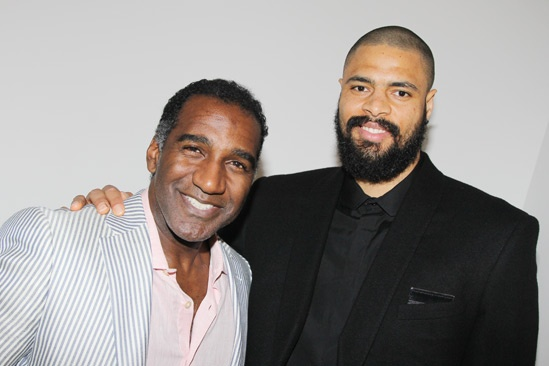 The Trip to Bountiful – Tyson Chandler Visit – Norm Lewis – Tyson Chandler